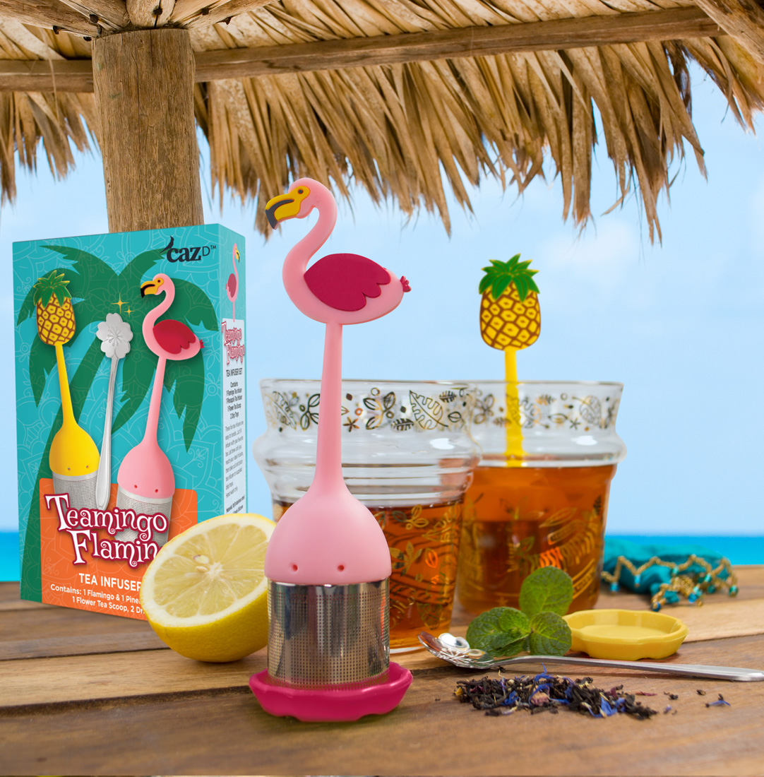 Teamingo Flamingo Tea Infuser Set